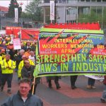 Workers Memorial Day March at Wembley