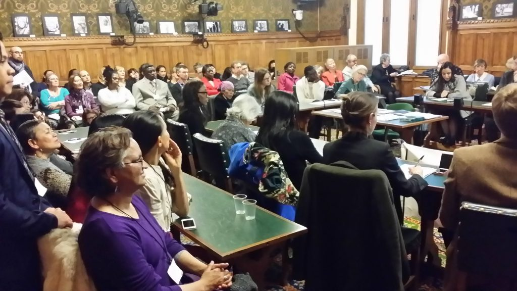 Migrant domestic workers in Commons plan the end of modern slavery