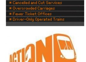 Join the 'Action for Rail' day of action 3 January 2017 at a station near you