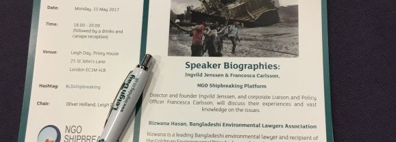 Death and destruction in shipbreaking yards