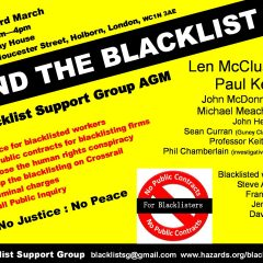 Blacklist Support Group AGM