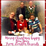 Christmas starts early for London Hazards & LASAG
